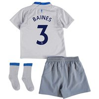 Everton Away Baby Kit 2017/18 with Baines 3 printing