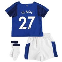 Everton Home Baby Kit 2017/18 with Vlašic 27 printing