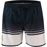 Real Madrid Fade Effect Swimshorts - Black/White - Mens