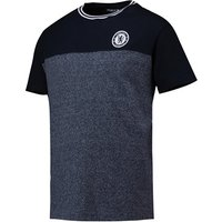 Chelsea Classics Contrast T-Shirt - Total Eclipse/Denim Marl - Mens