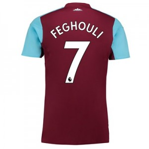 West Ham United Home Shirt 2017-18 with Feghouli 7 printing All items