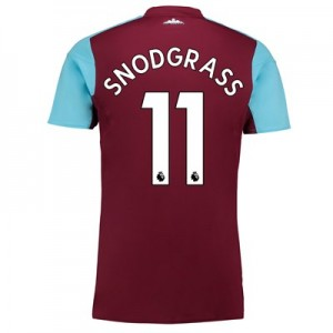 West Ham United Home Shirt 2017-18 with Snodgrass 11 printing All items