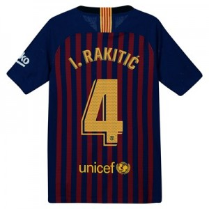 Barcelona Home Vapor Match Shirt 2018-19 – Kids with Rakitic 4 printing All items