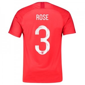 England Away Stadium Shirt 2018 with Rose 3 printing All items