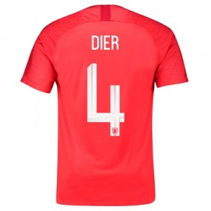 England Away Stadium Shirt 2018 with Dier 4 printing All items