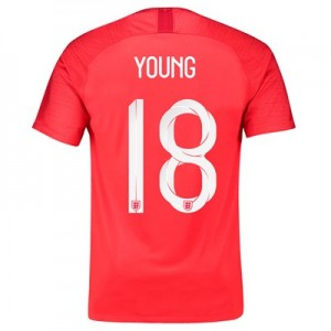 England Away Stadium Shirt 2018 with Young 18 printing All items