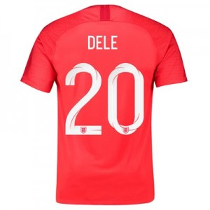England Away Stadium Shirt 2018 with Dele 20 printing All items