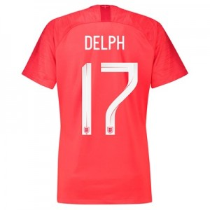 England Away Stadium Shirt 2018 – Womens with Delph 17 printing All items
