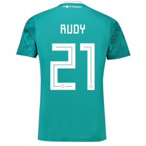 Germany Away Shirt 2018 with Rudy 21 printing All items