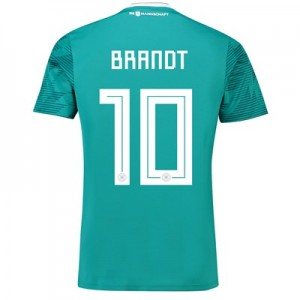 Germany Away Shirt 2018 with Brandt 10 printing All items