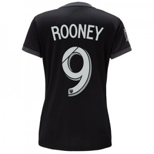 DC United Home Shirt 2018 – Womens with Rooney 9 printing All items
