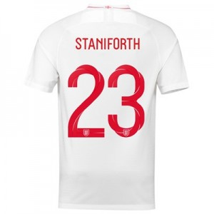 England Home Stadium Shirt 2018 with Staniforth 23 printing All items