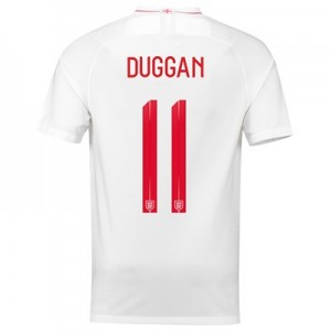 England Home Stadium Shirt 2018 with Duggan 11 printing All items