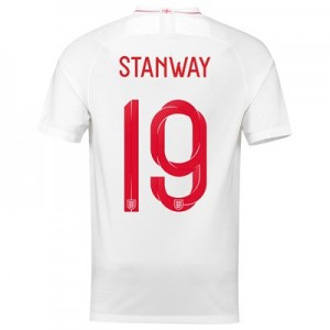 England Home Stadium Shirt 2018 with Stanway 19 printing All items