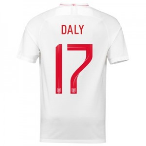 England Home Stadium Shirt 2018 with Daly 17 printing All items