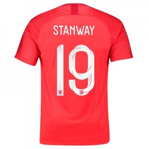England Away Stadium Shirt 2018 with Stanway 19 printing All items