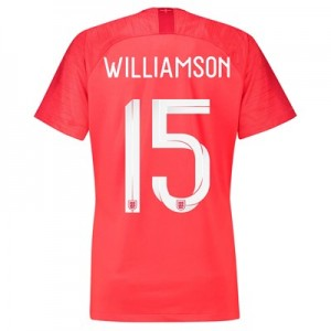 England Away Stadium Shirt 2018 – Womens with Williamson 15 printing All items