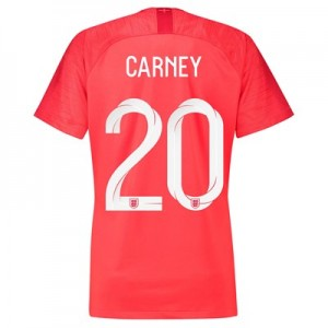 England Away Stadium Shirt 2018 – Womens with Carney 20 printing All items