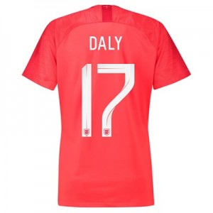 England Away Stadium Shirt 2018 – Womens with Daly 17 printing All items