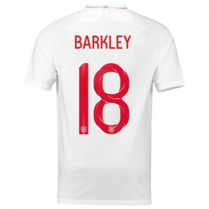 England Home Stadium Shirt 2018 with Barkley 18 printing All items