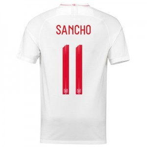 England Home Stadium Shirt 2018 with Sancho 11 printing All items