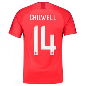 England Away Stadium Shirt 2018 with Chilwell 14 printing All items