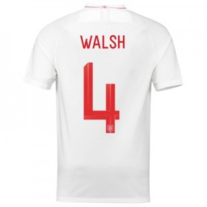 England Home Stadium Shirt 2018 with Walsh 4 printing All items