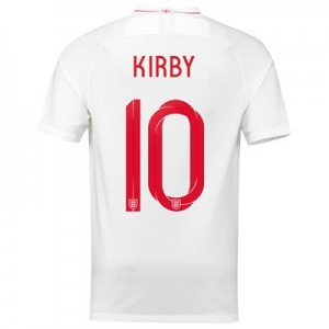 England Home Stadium Shirt 2018 with Kirby 10 printing All items