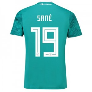 Germany Away Shirt 2018 with Sané 19 printing All items