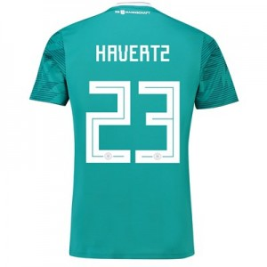 Germany Away Shirt 2018 with Havertz 23 printing All items