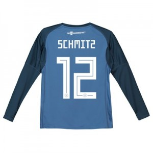 Germany Home Goalkeeper Shirt 2018 – Kids with Schmitz 12 printing All items