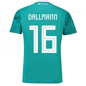 Germany Away Shirt 2018 with Dallmann 16 printing All items