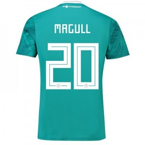 Germany Away Shirt 2018 with Magull 20 printing All items
