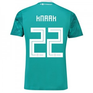 Germany Away Shirt 2018 with Knaak 22 printing All items