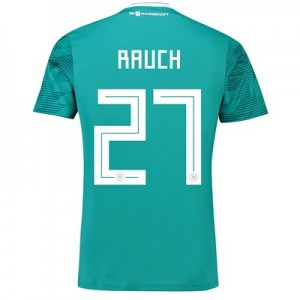 Germany Away Shirt 2018 with Rauch 27 printing All items