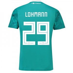 Germany Away Shirt 2018 with Lohmann 29 printing All items