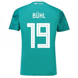 Germany Away Shirt 2018 with Bühl 19 printing All items