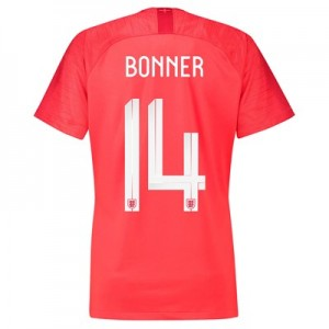 England Away Stadium Shirt 2018 – Womens with Bonner 14 printing All items