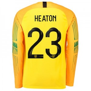 England Goalkeeper Stadium Shirt 2018 with Heaton 23 printing All items
