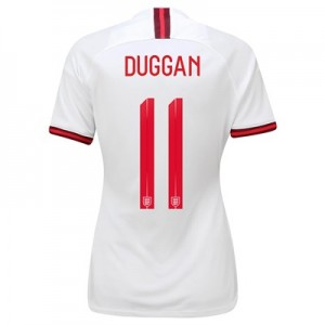 England Home Stadium Shirt 2019-20 – Women's with Duggan 11 printing All items