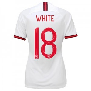 England Home Stadium Shirt 2019-20 – Women's with White 18 printing All items