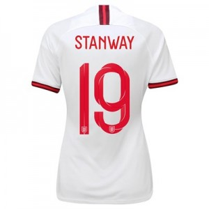 England Home Stadium Shirt 2019-20 – Women's with Stanway 19 printing All items