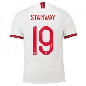 England Home Stadium Shirt 2019-20 – Men's with Stanway 19 printing All items