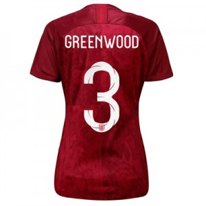 England Away Stadium Shirt 2019-20 – Women's with Greenwood 3 printing All items
