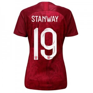 England Away Stadium Shirt 2019-20 – Women's with Stanway 19 printing All items