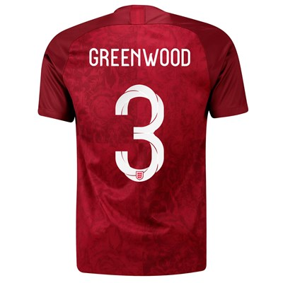 England Away Stadium Shirt 2019-20 – Men's with Greenwood 3 printing All items
