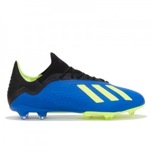 adidas X 18.2 Firm Ground Football Boots – Blue All items