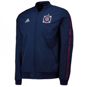 Chicago Fire Anthem Jacket – Navy All items