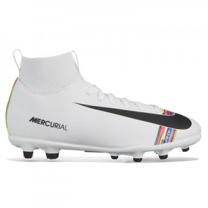Nike Mercurial Level Up Superfly 6 Club Firm Ground Football Boots – White – Kids All items
