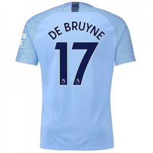 Manchester City Home Vapor Match Shirt 2018-19 with De Bruyne 17 printing All items